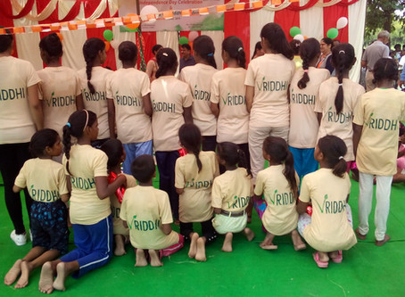 Vriddhi celebrates Independence Day