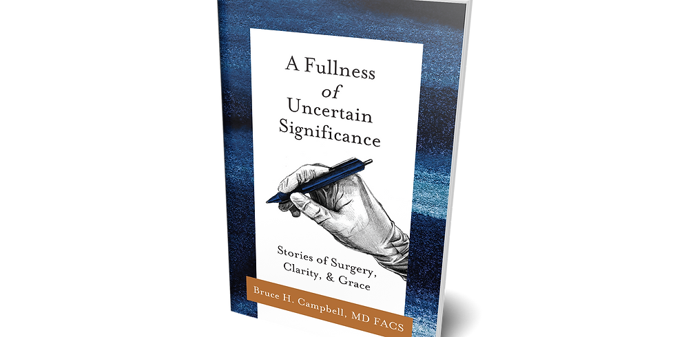 """""""A Fullness of Uncertain Significance"""" book launch"""
