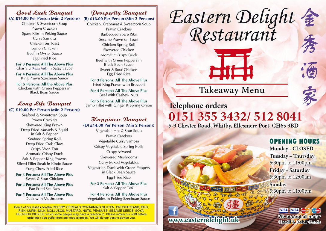 EASTERN DELIGHT (WHITBY CH65 9BD) Rest M