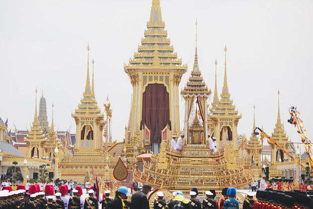 THE ROYAL CREMATION