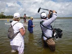 freelance sound recordist marty fay sunshine coast noosa river reality lifestyle