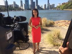 Bloomberg television hosting for 2014 G20 summit Brisbane with freelance Brisban