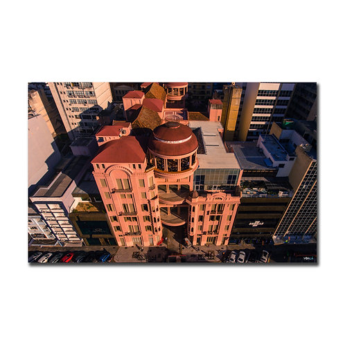 Fotografia aérea feita com um drone da Casa de Cultura Mário Quintana em Porto Alegre - RS - Brasil