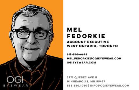 OGI Sales Team - Mel Fedorkie