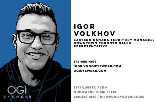 OGI Sales Team - Igor Volkhov