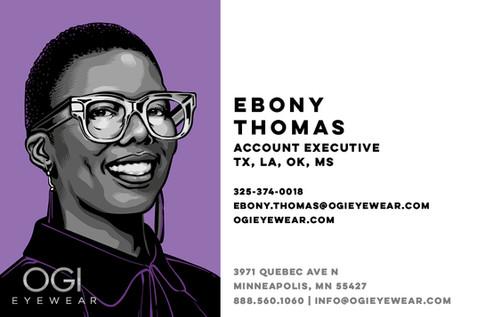 OGI Sales Team - Ebony Thomas