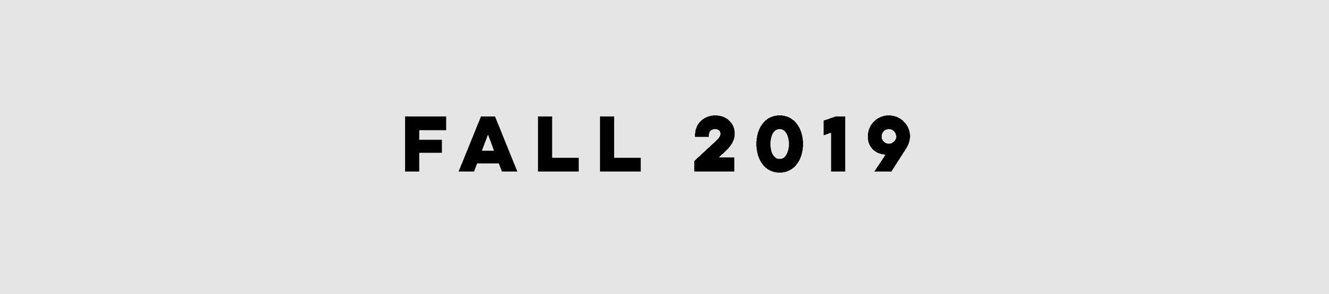 OGI Fall 2019
