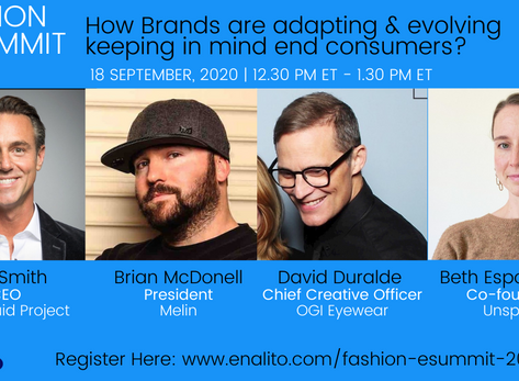 FASHION e-summit 2020:       How brands are adapting and evolving keeping in mind end consumers?