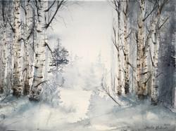 Vinterskog (Såld)