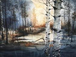 I en svensk skog (Såld)