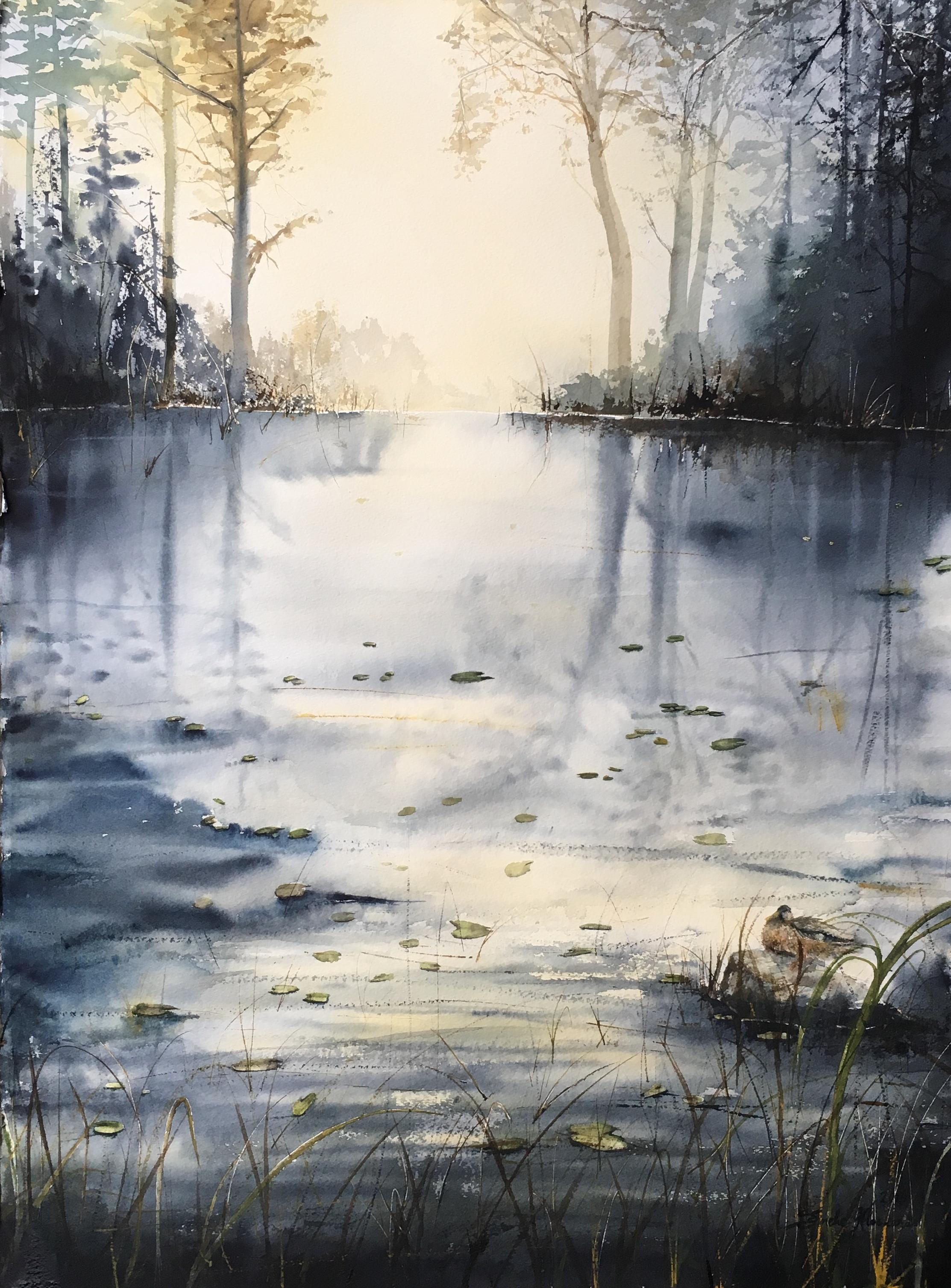 Ljuset vid sjön (Såld)