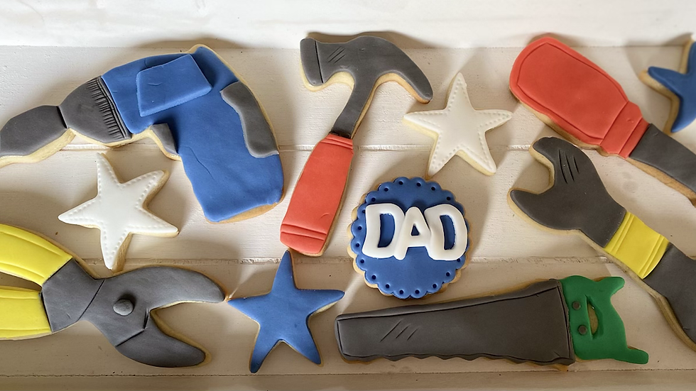 Fathers Day Cookie Boxes