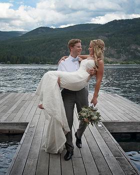 Christina Lake Wedding Photographer