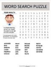 All Your Mouth Word Search