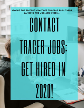 Contact tracer jobs book