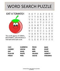 eat a tomato printable word search puzzl