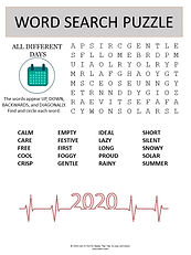 Different days word search puzzle for ki