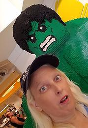 Jodi Jill and Incredible Hulk