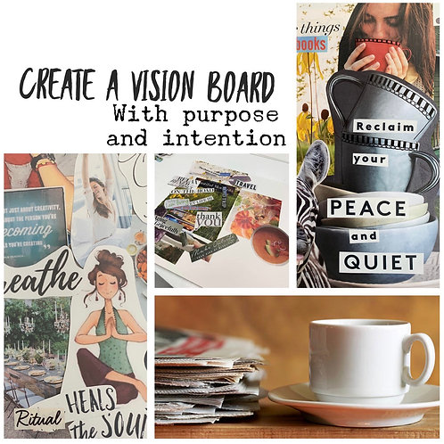 Private Group Vision  Board