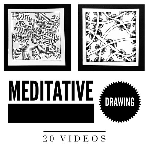 Meditative Drawing (online class)