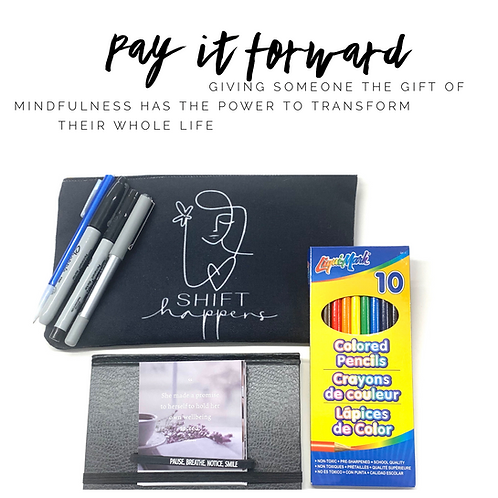 Support our Pay it Forward Program for women living in shelters and prisons