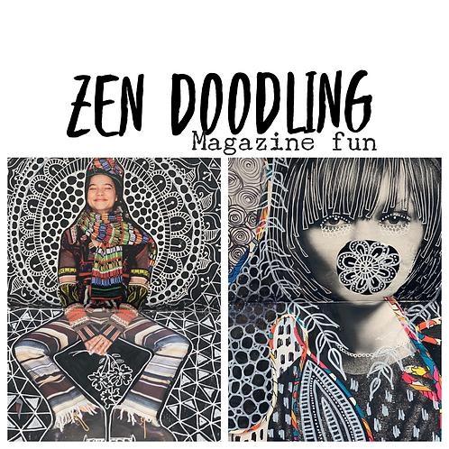 Zen Doodling for Mindfulness Meditation