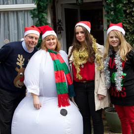 Family Life Swap at Christmas