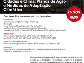 """""""Cities and Climate Seminar"""" takes place tomorrow"""