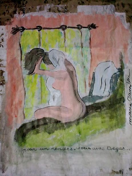 Le Bain - (Papier) €150