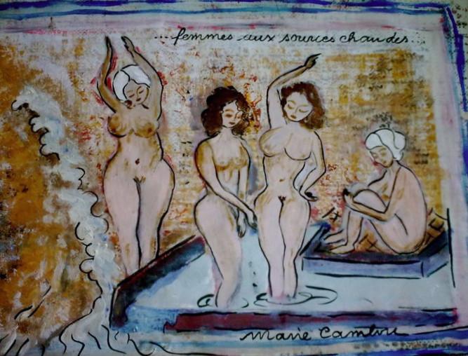 Femmes au Bain - Vendu