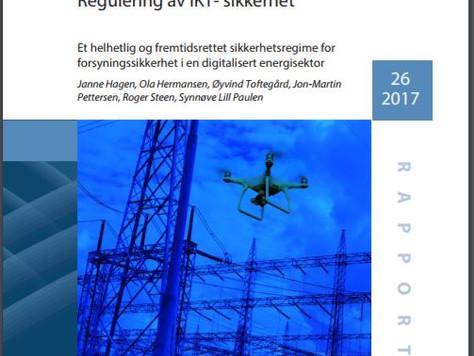 NY versjon av 'Regulering av IKT-Sikkerhet'
