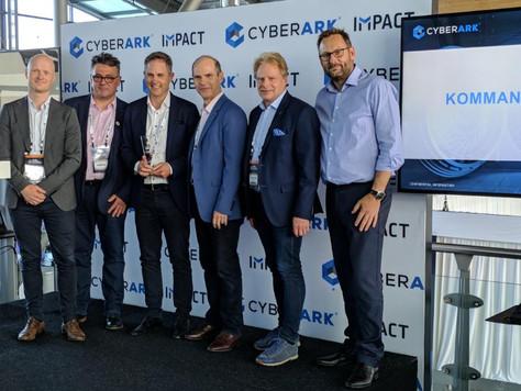 Kommando fikk tildelt prisen for Årets Nordiske Partner av CyberArk
