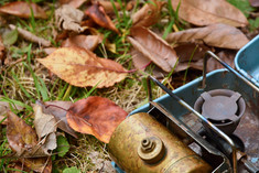 秋のアウトドア