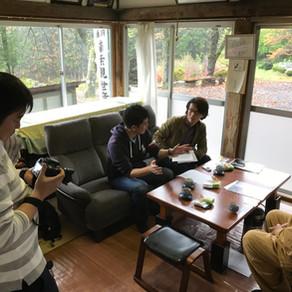伊勢出版の方と御朱印本でお世話になっている菊池様が取材に来山いたしました
