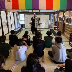 沼田准看護学校の生徒さんが修行に見えました。