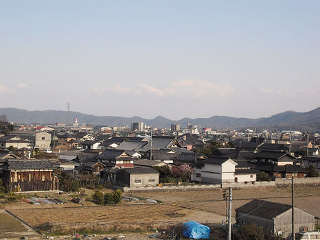 岡山県総社市の住宅型老人ホーム ケアヴィレッジ総社東側展望