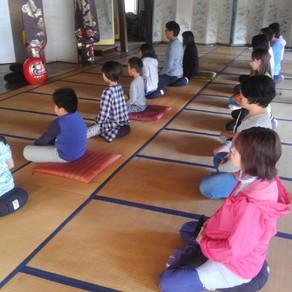 9月に引き続き「北毛子供教室」が当山にて行われます。
