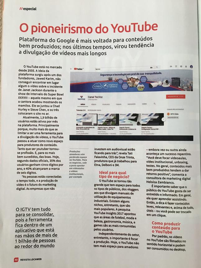 Na Mídia: Entrevista com a CEO Tati Falavinha - Revista Locaweb #84