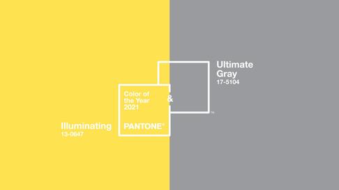Cores Pantone para 2021