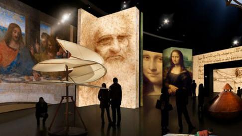 MIS Imersão: Da Vinci - O primeiro espaço imersivo da América Latina