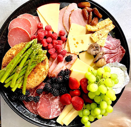 FRUIT, MEAT & CHEESE BOUNTY