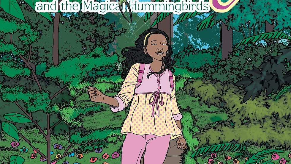 Zoey and the Magical Hummingbirds