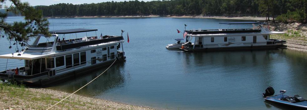 Lake Oachita Island