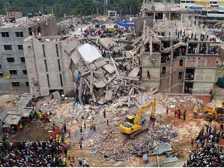 L'effondrement du Rana Plaza, symbole des abus de la fast fashion