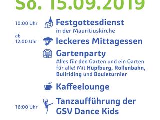 """Gemeindefest """"Alles für den Garten und ein Garten für alle!"""
