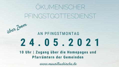 HIMMELSKRAFT! - Ökumenischer Gottesdienst an Pfingstmontag über zoom