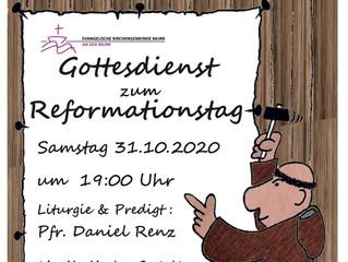 Heute ist Reformationstag!