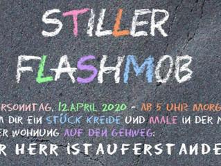 Stiller Flashmob - wer macht mit?