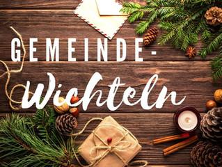 Gemeinde-Wichteln, schenken und beschenkt werden!
