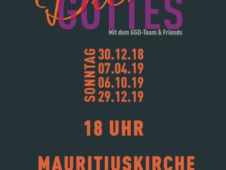 Bald ist es soweit! Erster Gospelgottesdienst in Pleidelsheim am 30.12.18